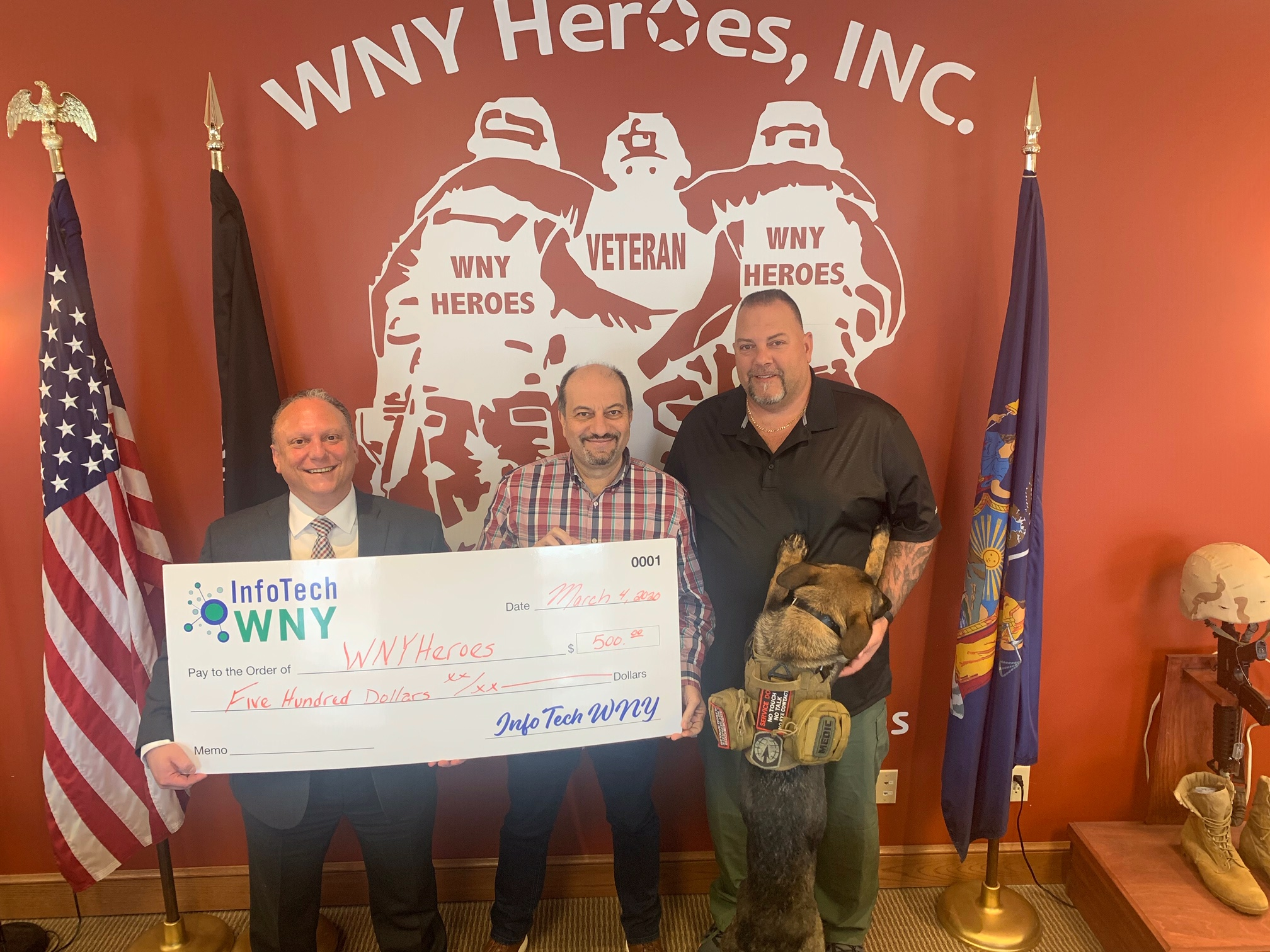 InfoTech WNY supports WNY Heroes Image